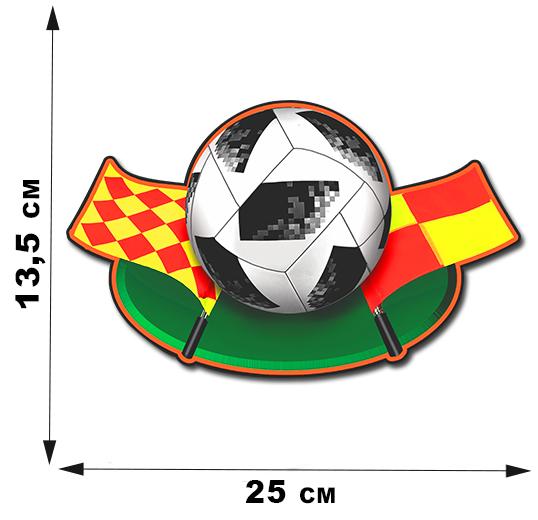Наклейка судебной ассоциации  FIFA