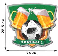 Наклейка сувенирная FOOTBALL