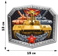 Наклейка танкиста (13x15 см)