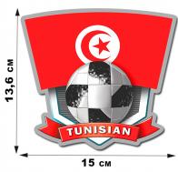 Наклейка Тунис.