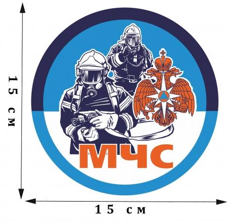 Наклейка виниловая МЧС