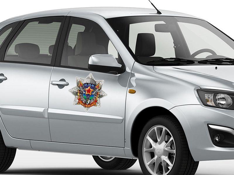Наклейки на машину с символикой воздушно-десантных войск