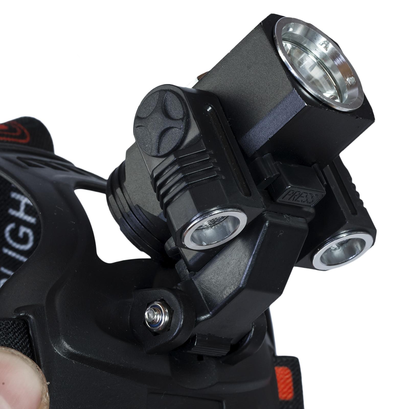 Заказать налобный аккумуляторный фонарь Led