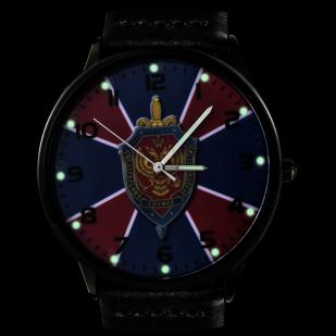 Наручные часы «ФСБ» с подсветкой