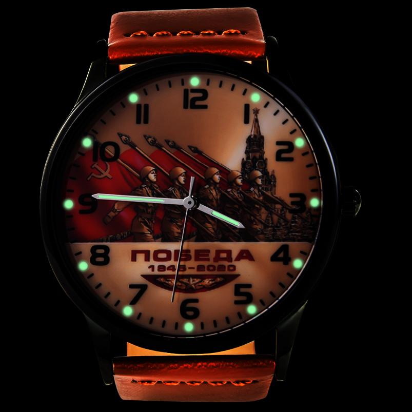 Наручные часы к 75-летию Победы «1945-2020» - тритиевая подсветка
