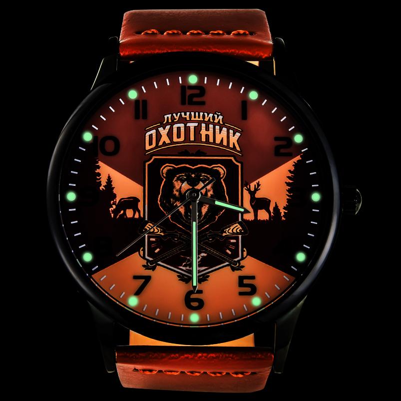 Наручные часы «Лучший охотник» - с подсветкой