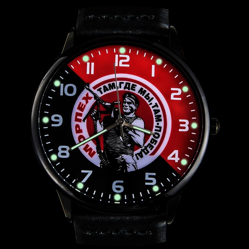 Наручные часы «Морпех» с подсветкой