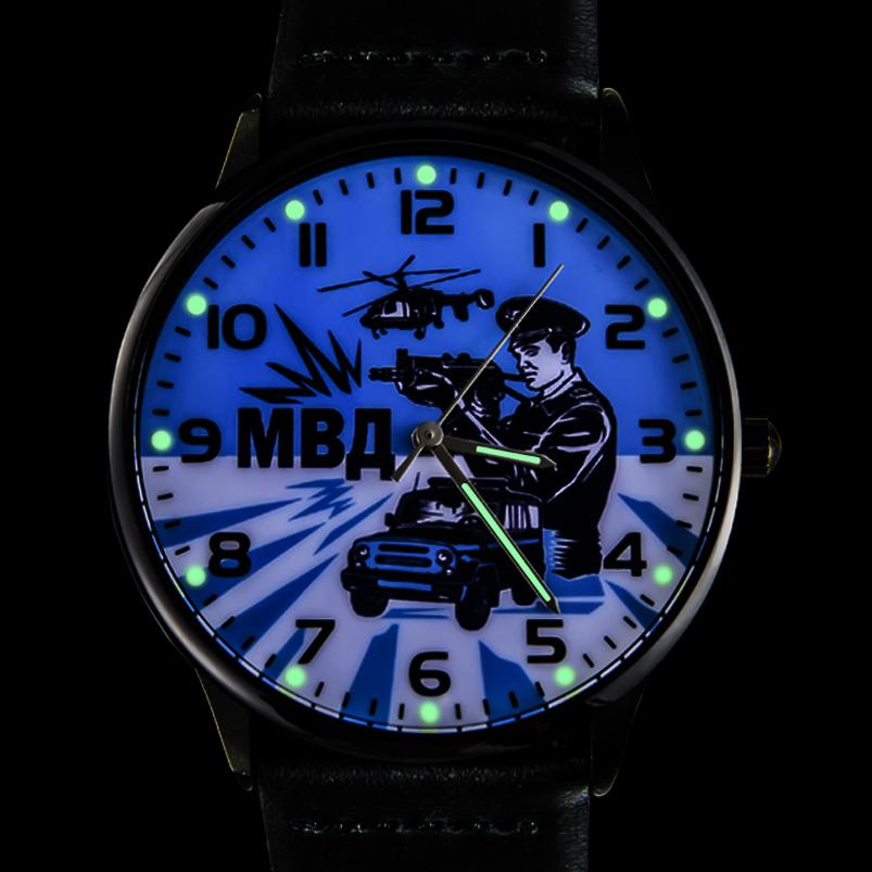 Наручные часы «МВД»