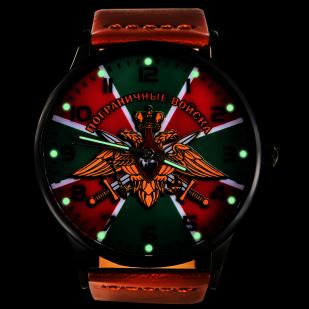 Наручные часы «Пограничные войска» с подсветкой