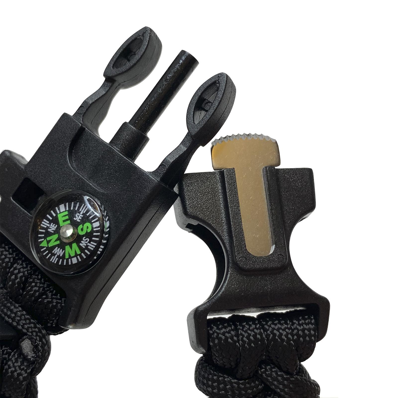 Наручные часы с браслетом для выживания