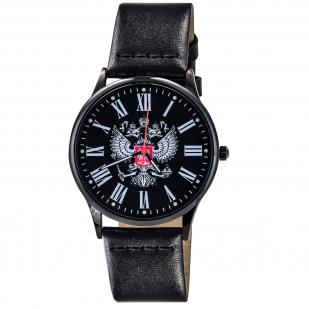 Наручные часы с гербом России