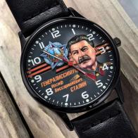 Наручные часы с изображением Сталина