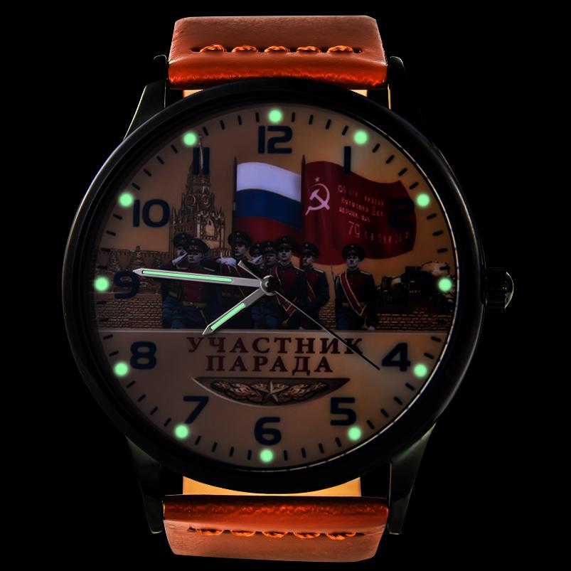 Наручные часы «Участник парада Победы» - тритиевая подсветка