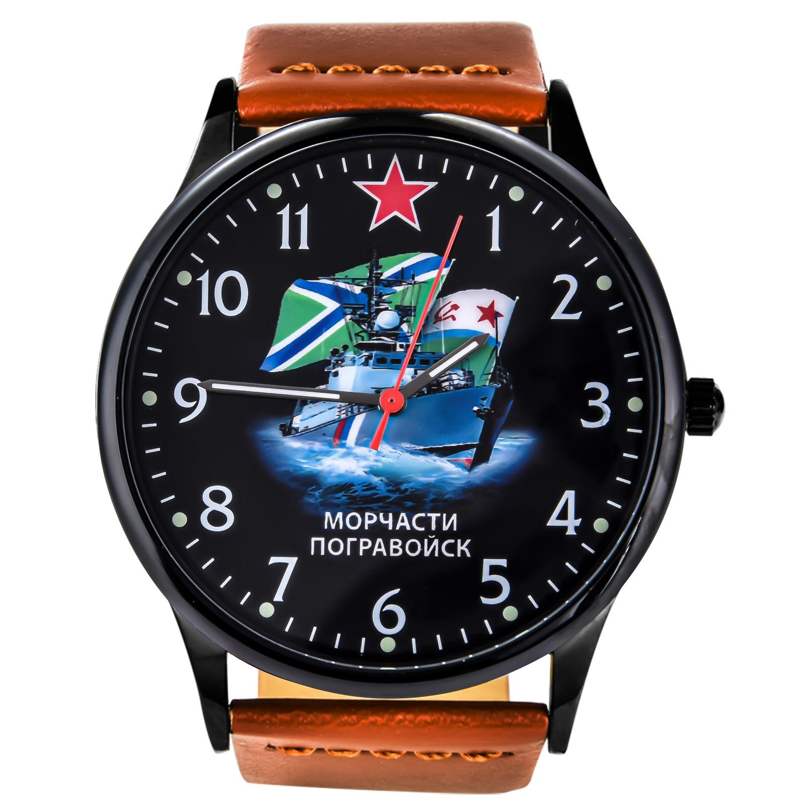 Наручные командирские часы Морчасти Погранвойск купить в Военпро
