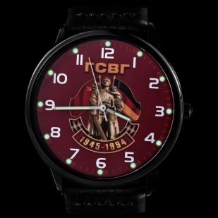 Наручные кварцевые часы «ГСВГ» с подсветкой