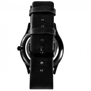 Наручные кварцевые часы «ГСВГ» с кожаным ремешком