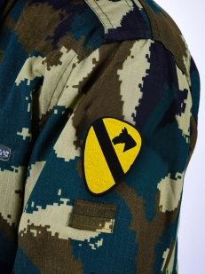 Нарукавная эмблема 1-й Кавалерийской дивизии США