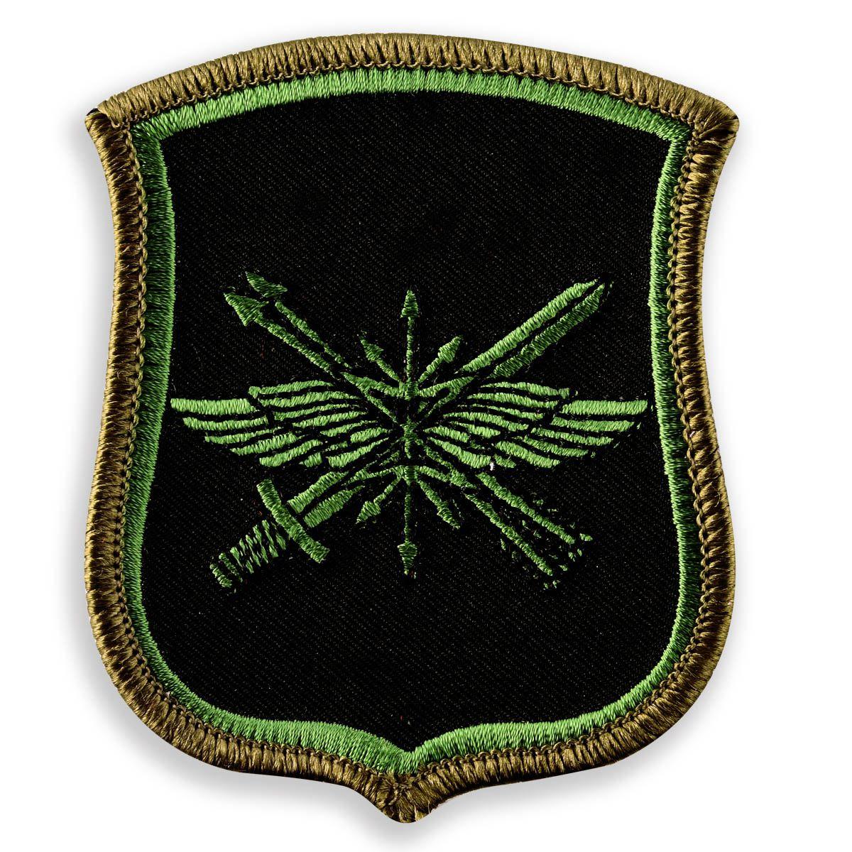 Нарукавный знак 882-го ЦУС РВСН на полевую форму