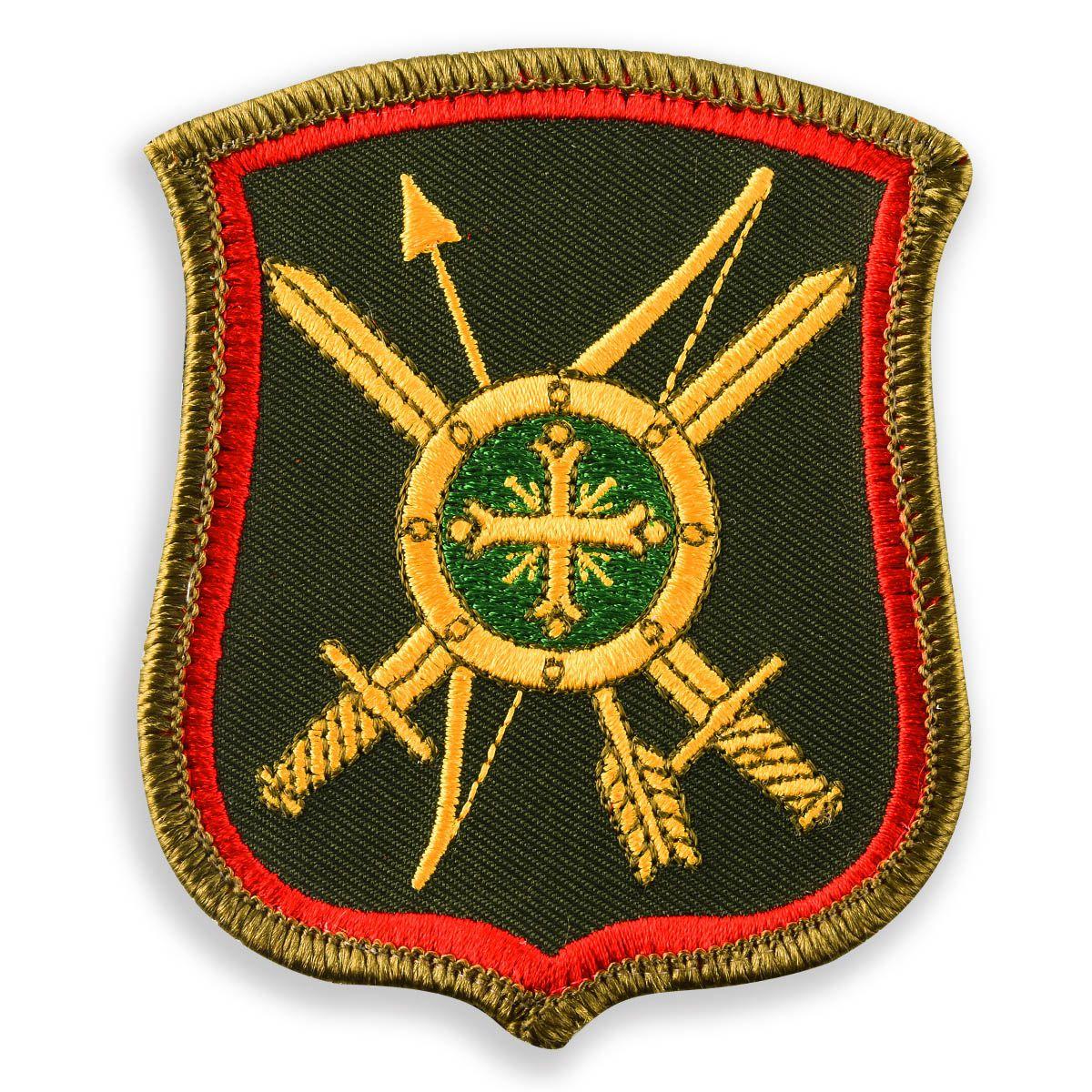 Нарукавный знак военнослужащего 8-ой ракетной дивизии РВСН