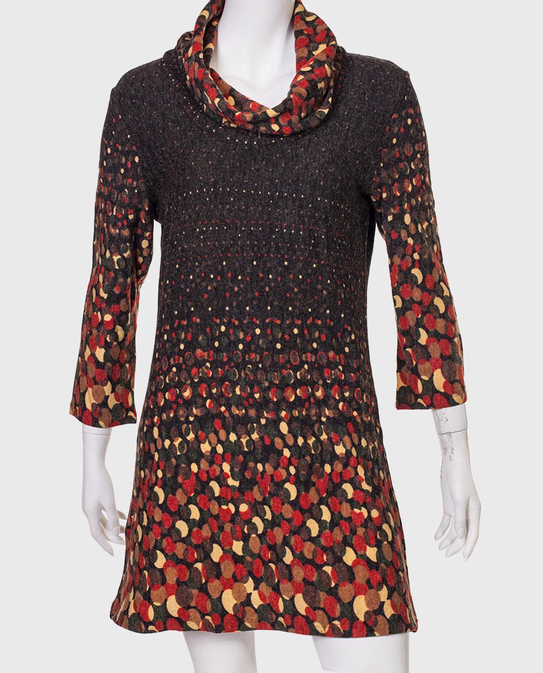 Купить нарядное платье с и объемным воротом