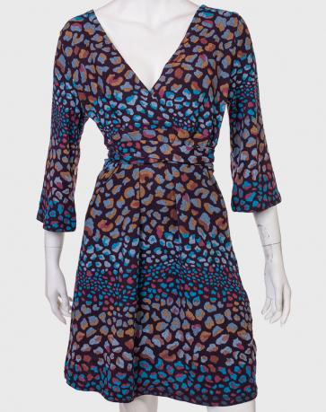 Купить нарядное платье с неординарным рисунком