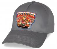 Нашим патриотам мы представляем классную кепку с эмблемой «Russia» и Мишкой с балалайкой по низкой цене. Количество ограничено. Успейте приобрести!