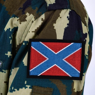 """Нашивка """"Боевое знамя Новороссии"""""""