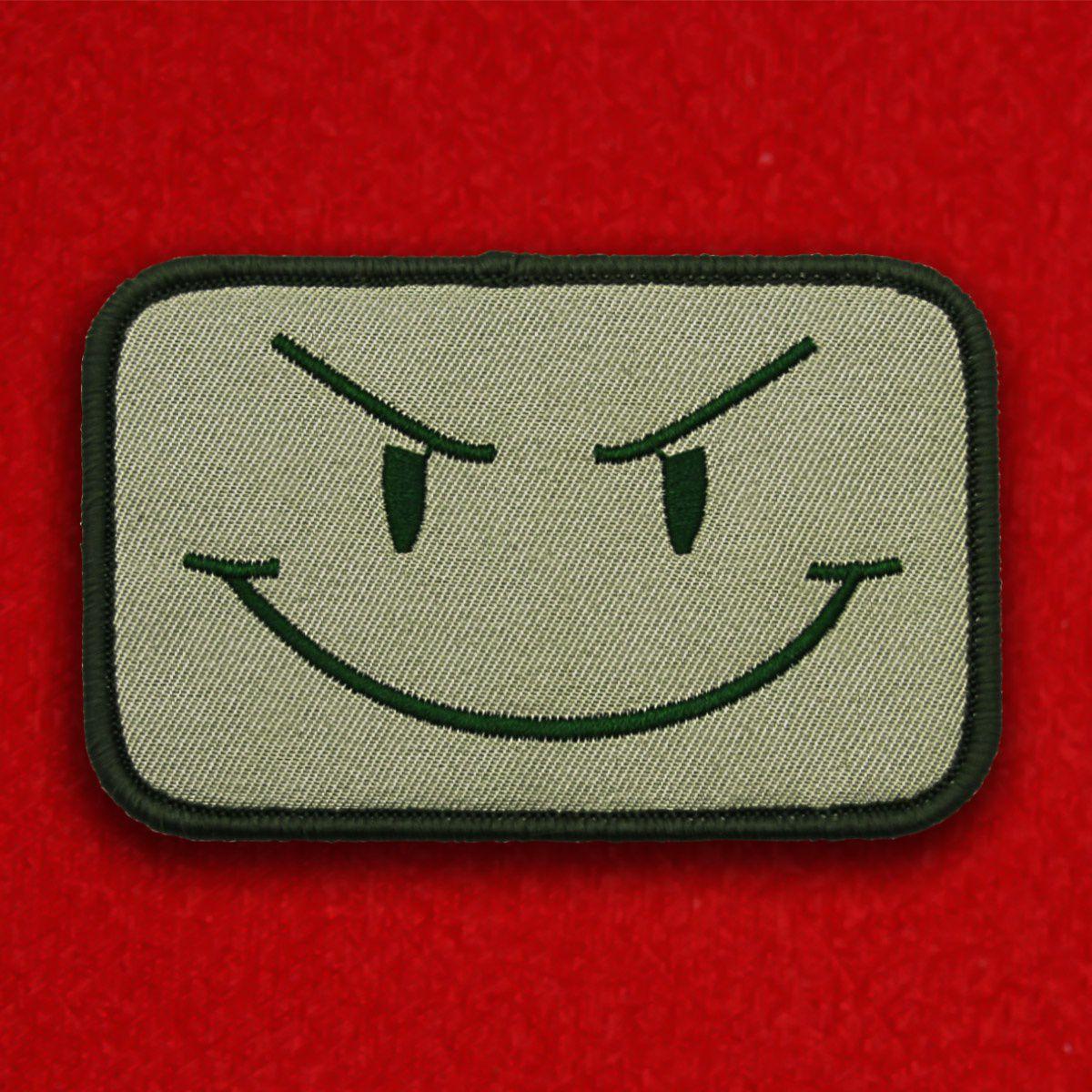 """Нашивка """"Evil Smile"""""""