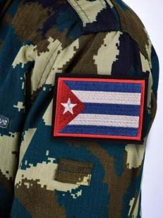 Нашивка Флаг Кубы