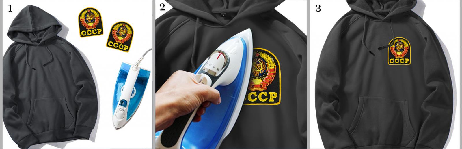 Недорогие термонашивки в дизайне СССР от военторга Военпро