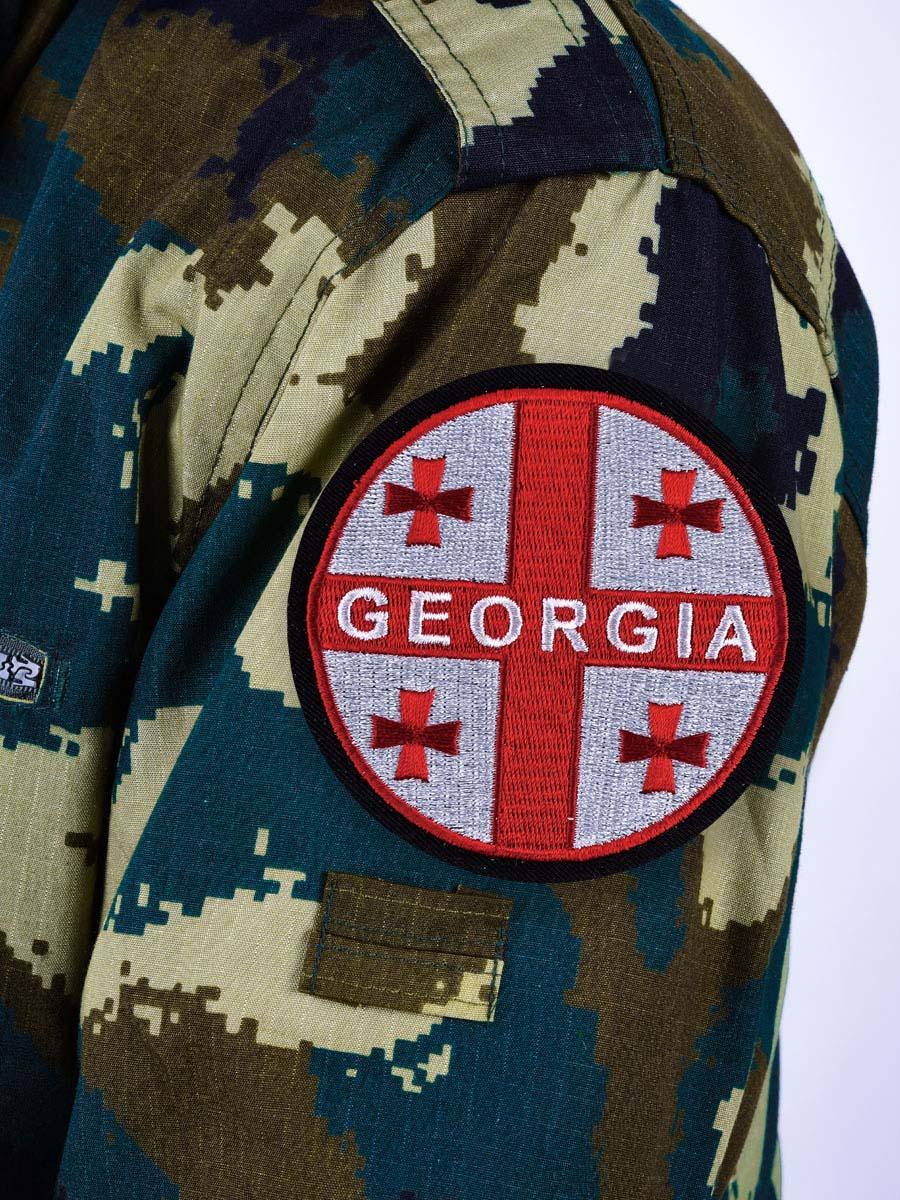 Нашивка флаг Грузия