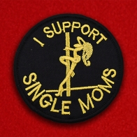 "Нашивка ""I support Single Moms"""