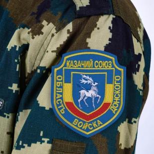 """Нашивка Казачий Союз """"Область Войска Донского"""""""