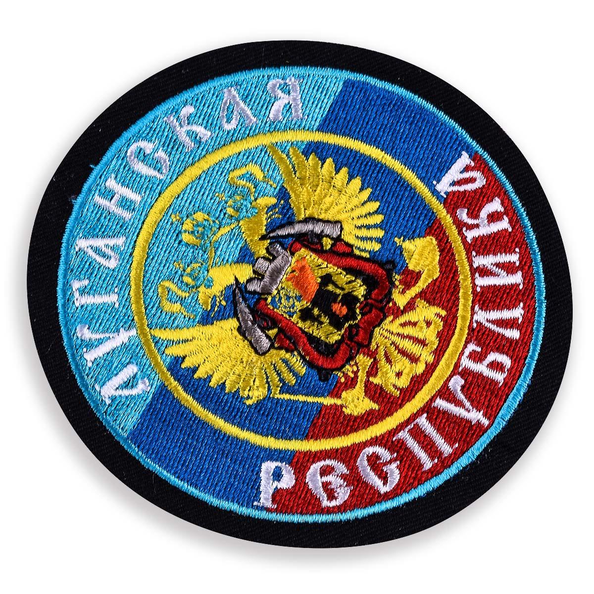 """Нашивка """"Луганская Республика"""""""