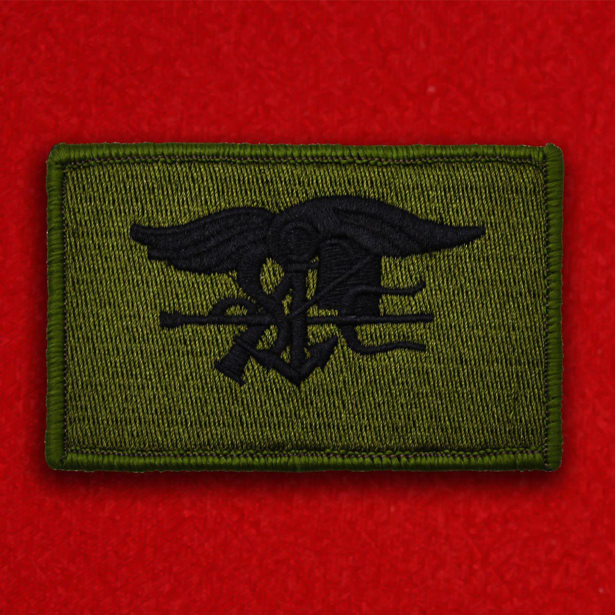 """Нашивка """"Морские котики"""" ВМФ США"""
