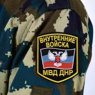 """Нашивка МВД ДНР """"Внутренние войска"""""""