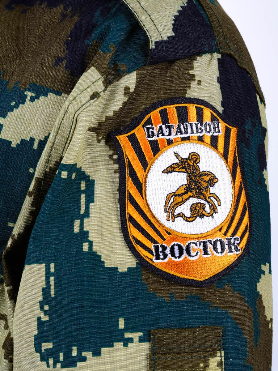 """Нашивка ополчения Новороссии """"Батальон Восток"""""""