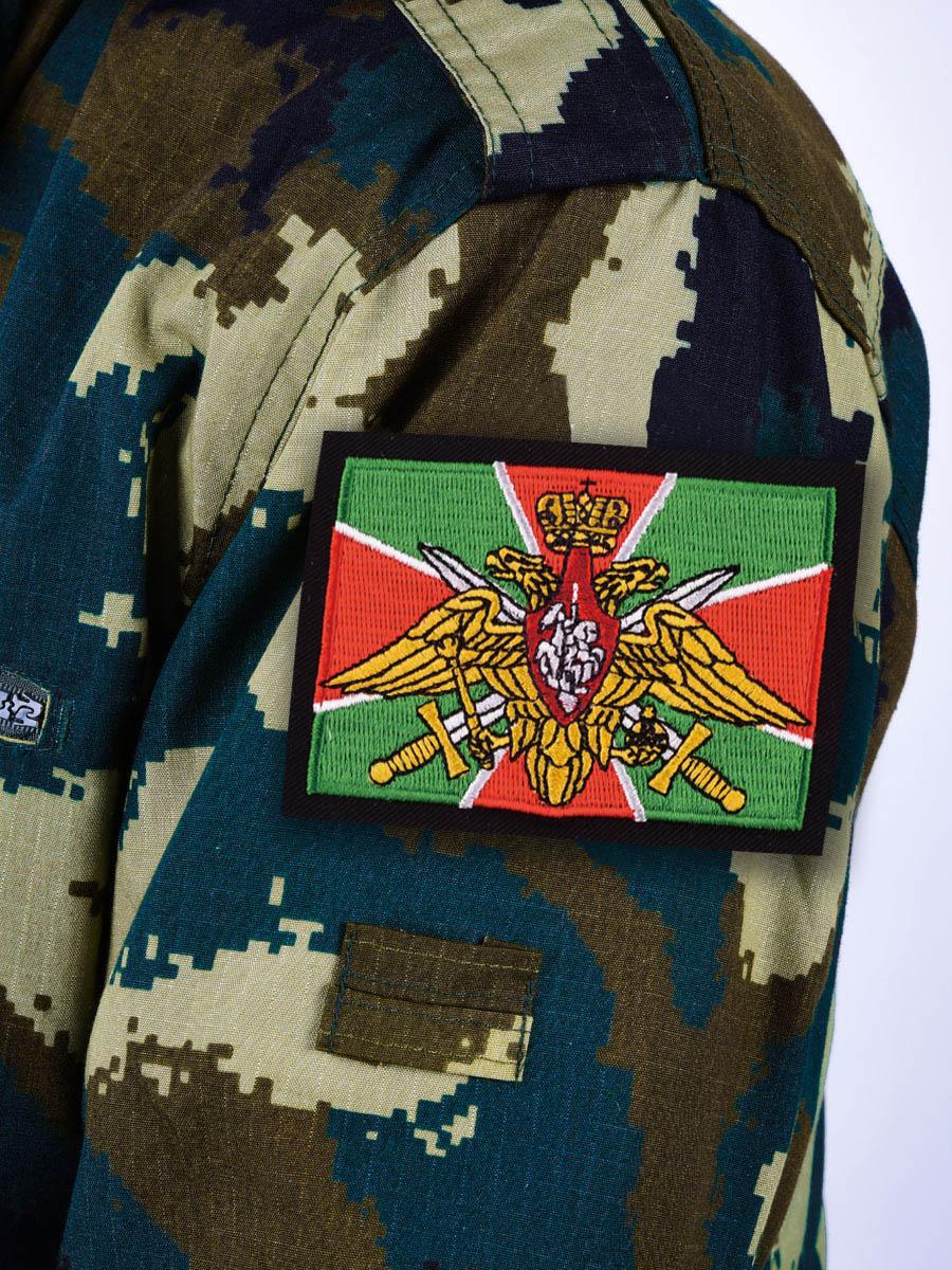 Нашивка Погранвойск РФ - на рукаве
