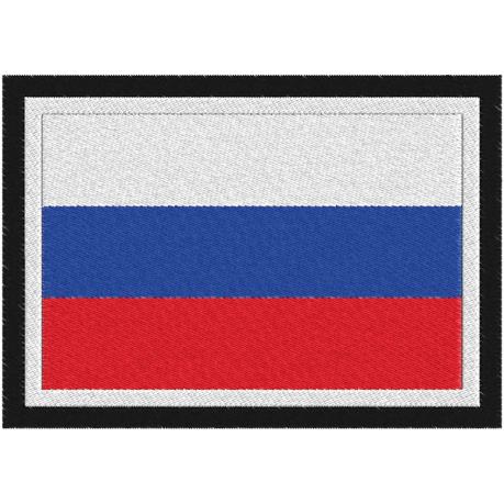 Нашивка Российский триколор