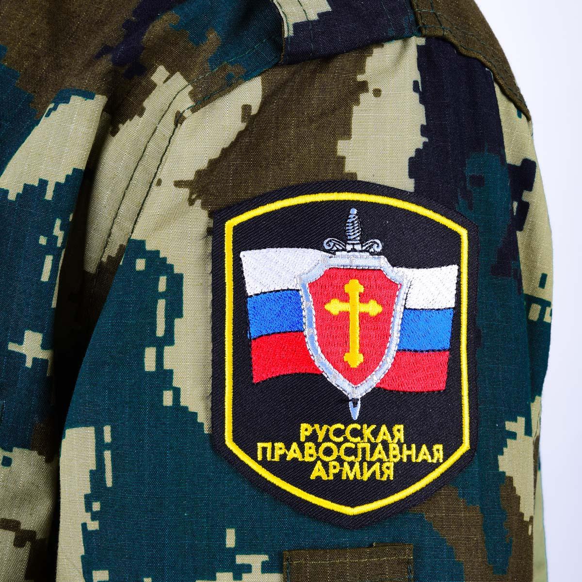 Нашивка Русской Православной Армии