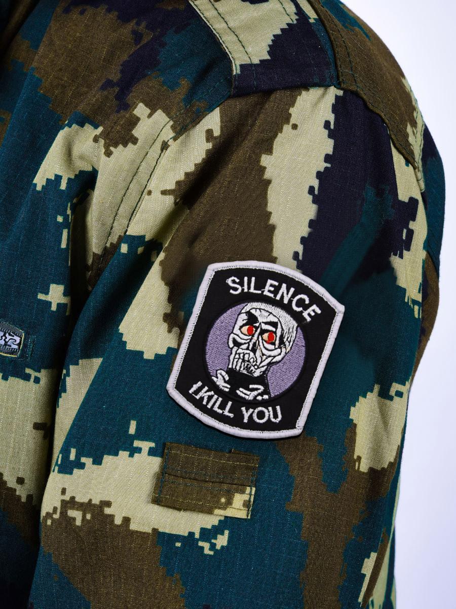 """Нашивка """"Silence I Kill You"""""""