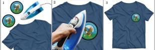 Нашивка ВДВ 103 гв. ВДД на футболке