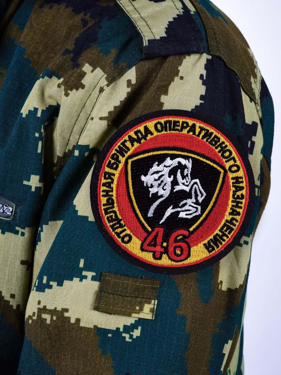 """Нашивка ВВ """"46 Отдельная бригада Оперативного Назначения"""""""