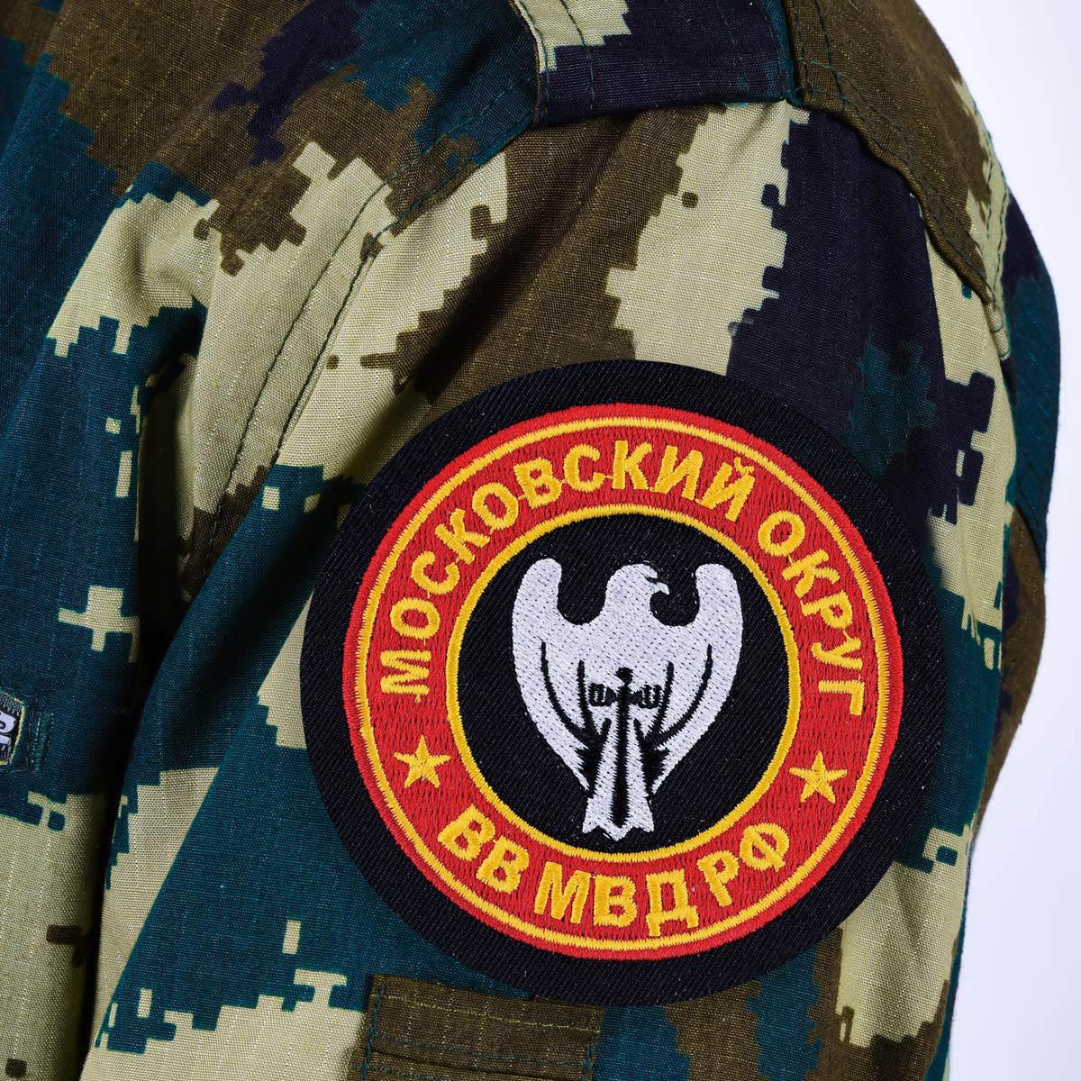 """Нашивка ВВ МВД """"Московский военный округ"""""""