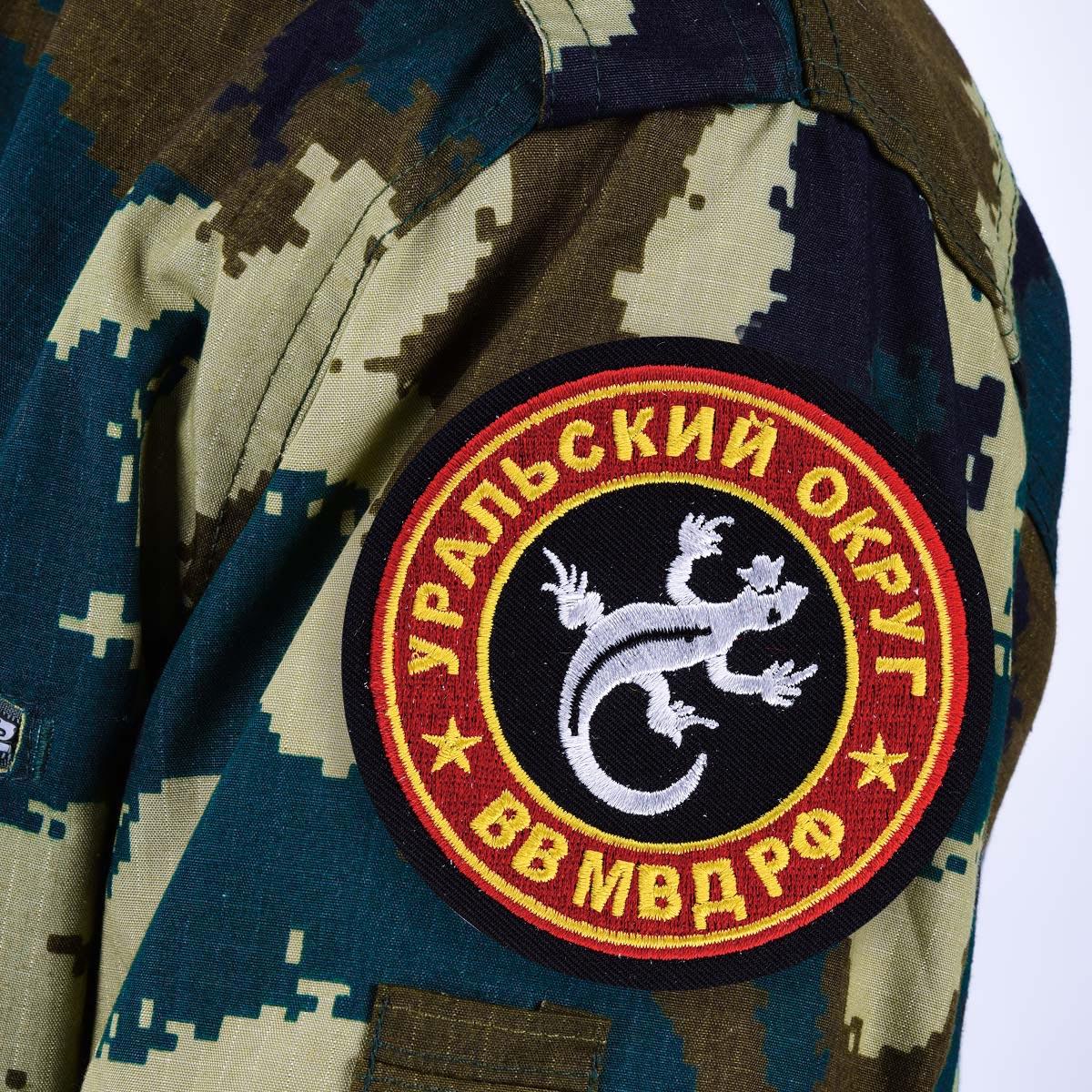 """Нашивка ВВ МВД """"Уральский военный округ"""""""