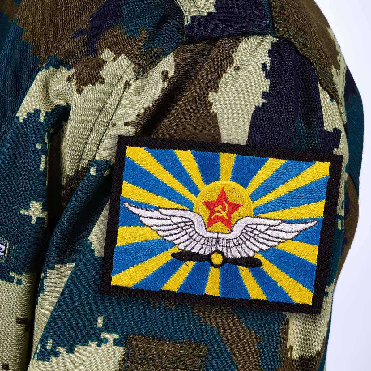 Нашивка ВВС СССР с термо-клеевой основой