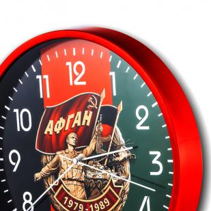 Настенные часы «Афган. 1979-1989» купить в Военпро