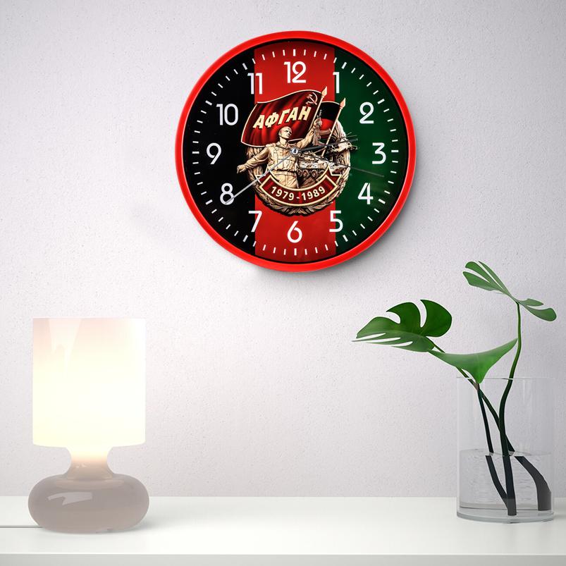 Настенные часы «Афган. 1979-1989» заказать в Военпро