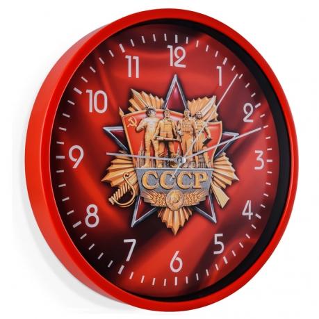 """Настенные часы """"CCCP"""""""