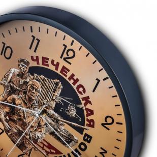 Настенные часы «Чеченская война» купить в Военпро